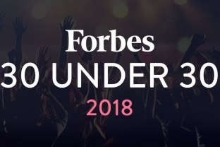 Forbes 30 under 30 2018