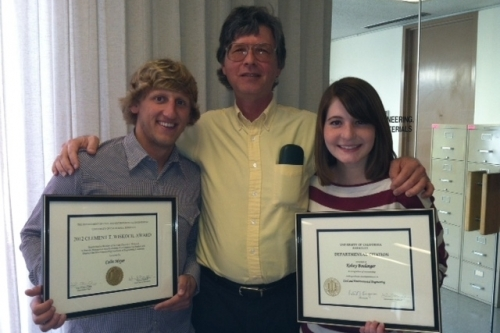 Colin and Kelsey with Vice Chair Bill Nazaroff