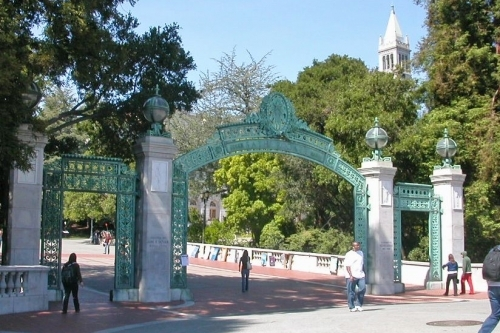 Sather Gate UC Berkeley campus